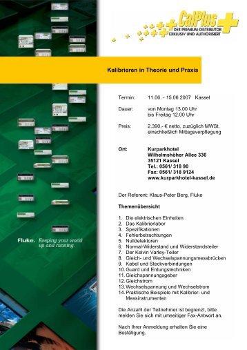 Antwort Fax - CalPlus GmbH