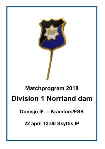 Matchprogram_2018_DomsjöIF-MorönBK