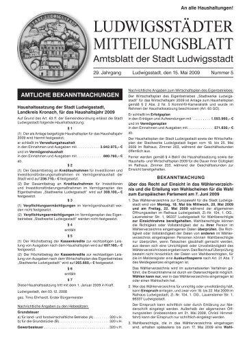 50.Geburtstag - Ludwigsstadt