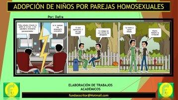 ADOPCION EN PAREJAS HOMOSEXUALES