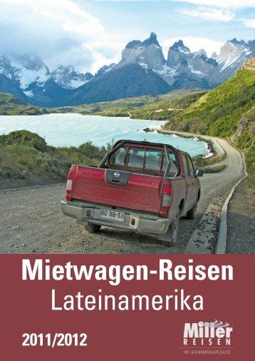 MILLER MietwagenreisenLateinamerikaCH 1112