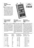 Digitales Hand-Manometer HM22 Manometro digitale portatile ... - Page 3