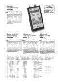 Digitales Hand-Manometer HM22 Manometro digitale portatile ... - Page 5