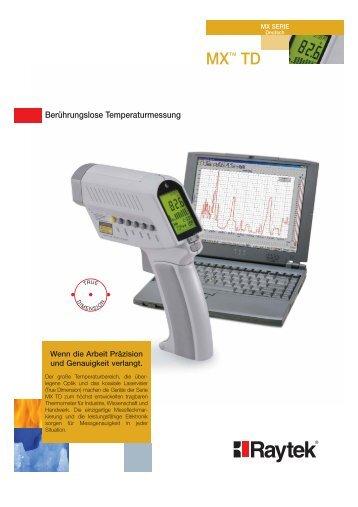 DataTemp MX Software zur Überwachung und ... - CalPlus GmbH