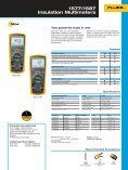 1577/1587 Insulation Multimeters - Page 2