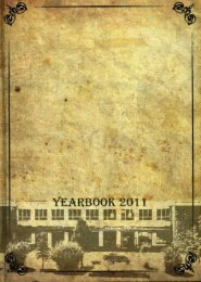 2011 Pine Memoirs Yearbook