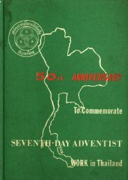 50YEARS Seventh - Day Adventist