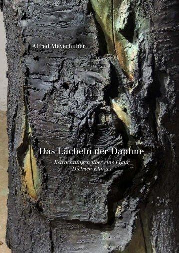 Dietrich Klinge –Das Lächeln der Daphne