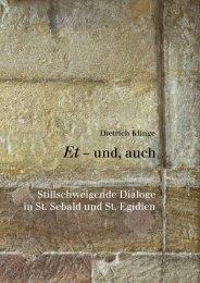 Dietrich Klinge –Et –und, auch ...