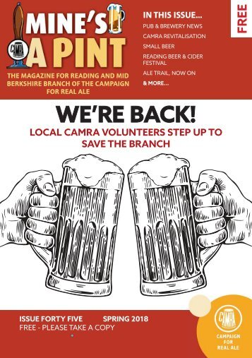Mine's a Pint Issue 45