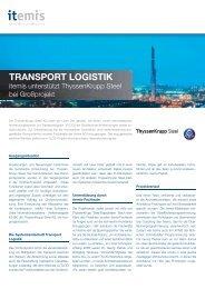 TRANSPORT LOGISTIK - itemis AG