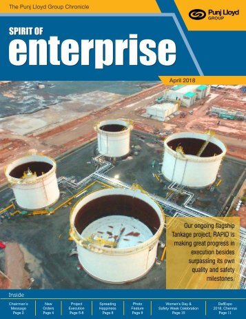 Spirit of Enterprise - Apr 2018 F