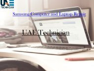 Call@+971-523252808 for Samsung Computer & Laptop Repair Services