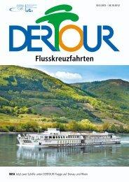 DERTOUR Flusskreuzfahrten 2012