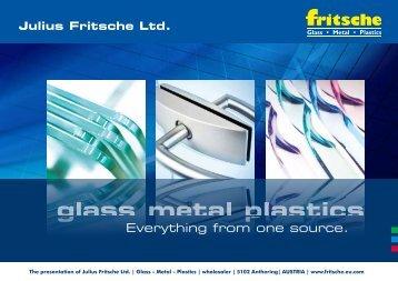 The presentation of Julius Fritsche Ltd.