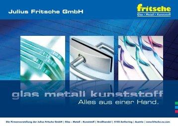 Firmenvorstellung Julius Fritsche GmbH