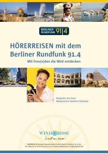 WINDROSE HoererreisenBerlinerRunfunk 2011