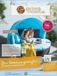 Den Sommer genießen - Entspannt im eigenen Garten - Prospekt 3 / 2018
