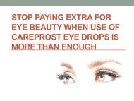 Add a spark to your pretty eyes by growing lashes with Careprost Eye Drops
