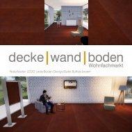 dwb Produktinformation LEDO LederBoden Buffalo brown