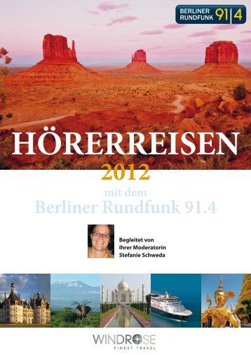 WINDROSE HoererreisenBerlinerRunfunk 2012