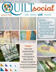 QUILTsocial | Issue 10