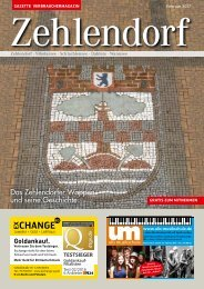 Gazette Zehlendorf Februar 2017