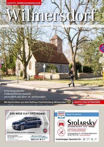 Gazette Wilmersdorf Februar 2017