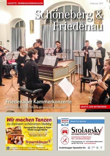 Gazette Schöneberg & Friedenau Februar 2017
