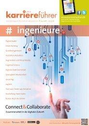karriereführer ingenieure 1.2018 – Zusammenarbeit in der digitalen Zukunft