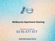 Melbourne Apartment Cleaning