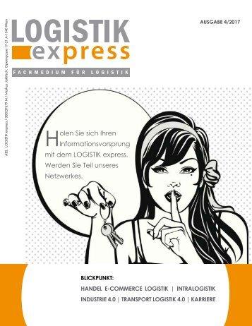 LOGISTIK express Fachzeitschrift | 2017 Journal 4