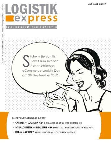 LOGISTIK express Fachzeitschrift | 2017 Journal 2