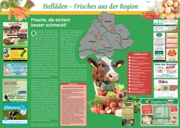 Hofläden - Frisches aus der Region  -23.04.2018-