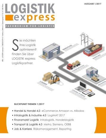 LOGISTIK express Fachzeitschrift   2017 Journal 1