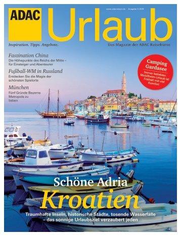 ADAC Urlaub Mai-Ausgabe 2018_Südbayern
