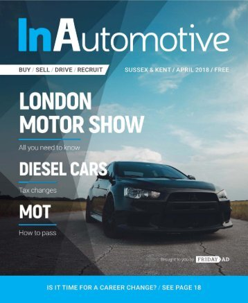 InAutomotive Mag - April Edition