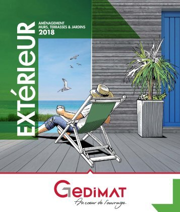 Gedimat catalogue exterieur 2018