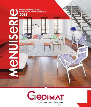 Gedimat catalogue menuiserie 2018