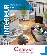 Gedimat catalogue interieur 2018