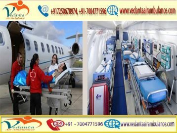 Vedanta Air Ambulance from Varanasi to Delhi is Always Available