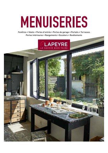 Lapeyre catalogue Menuiseries 2018