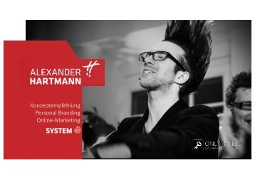 Bewerbung an Alexander Hartmann
