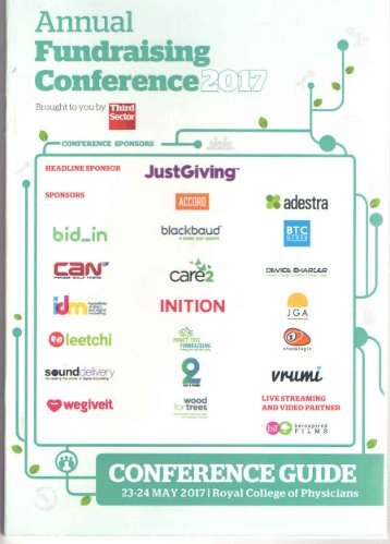 Annual Fundraising Conference 2017