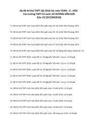 Bộ đề thi thử THPT QG 2018 Các môn TOÁN - LÍ - HÓA Các trường THPT Cả nước CÓ HƯỚNG DẪN GIẢI (Lần 15) [DC23042018]