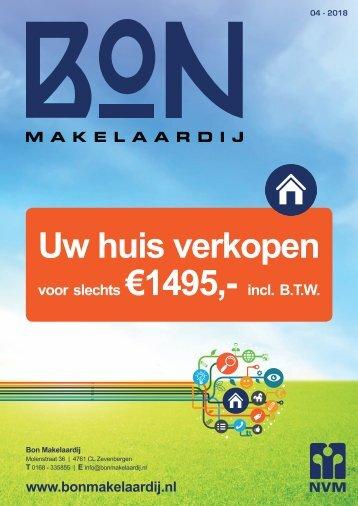 Bon Makelaardij WoonMagazine, #04 2018