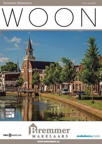 Bremmer Makelaars WOON magazine, mei 2018