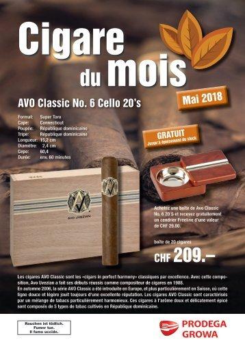 Cigare du mois mai