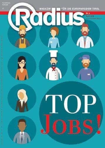 Radius Top Jobs 2018