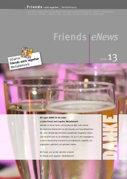 Friends eNews - Friends work together